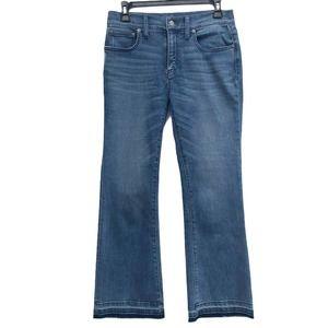 Vineyard Vines   Cropped Kick Flare Denim Jeans